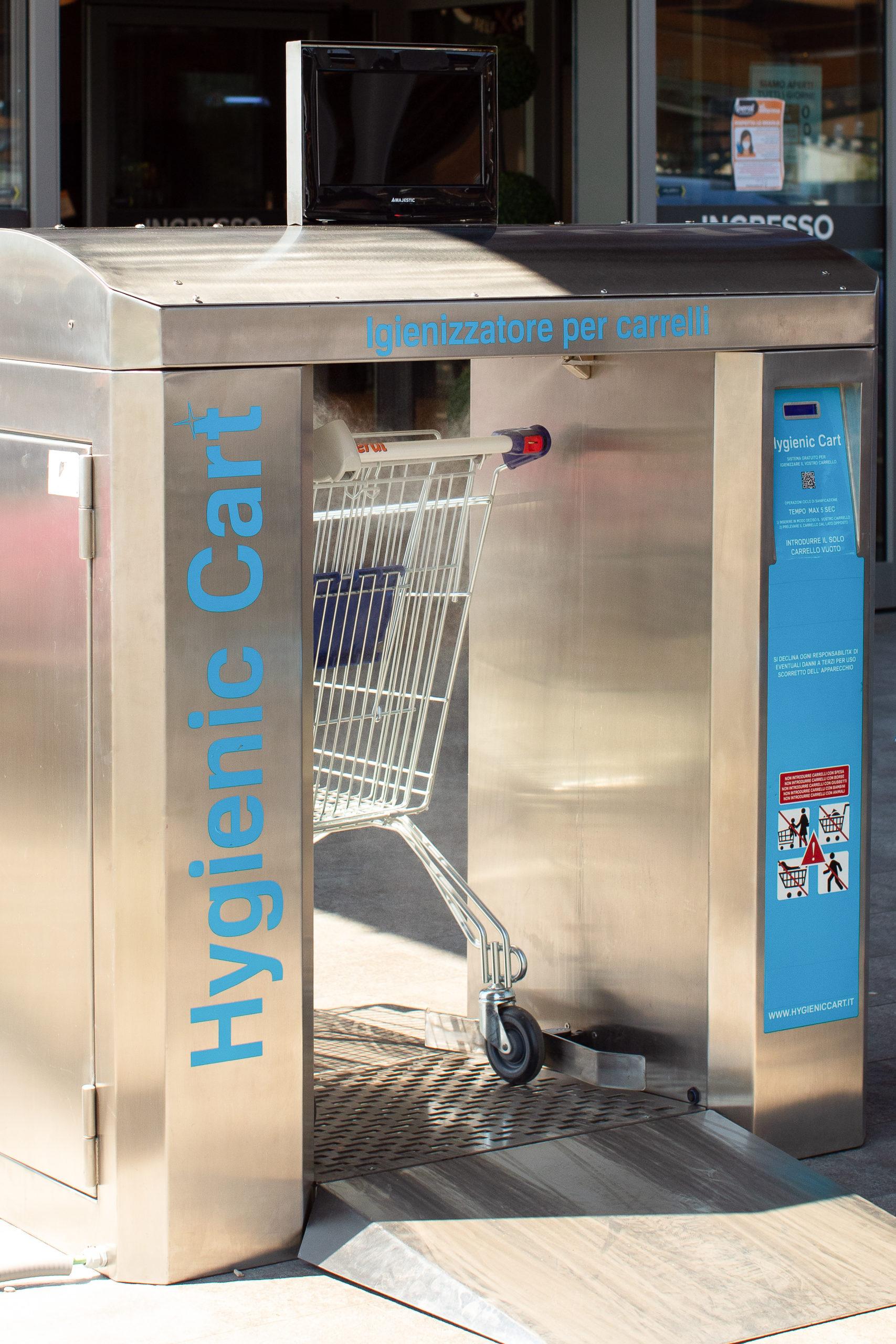 Hygienic Cart